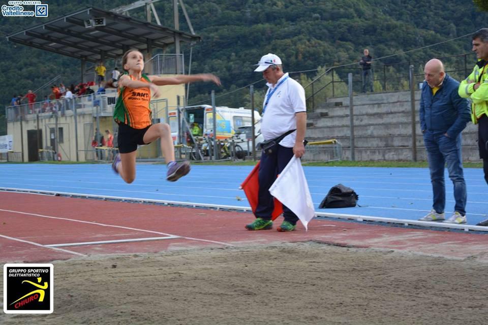 Alice Tosarini salto in lungo 17.09.2016